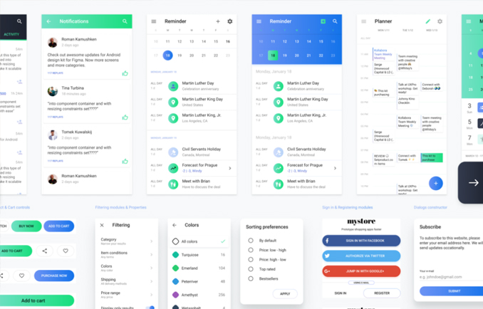 UI Enterprise Components