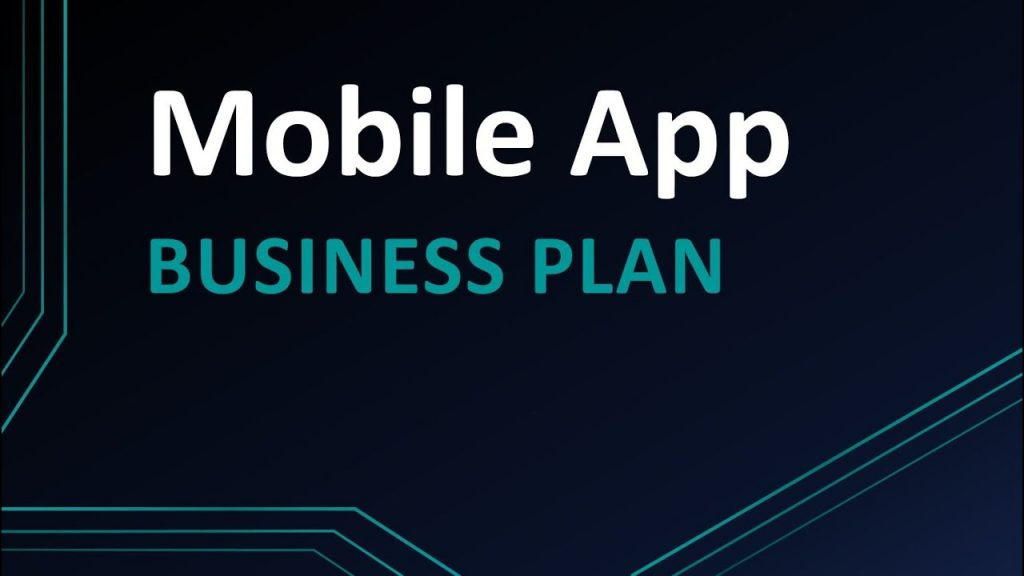 Business Plan for Mobile App
