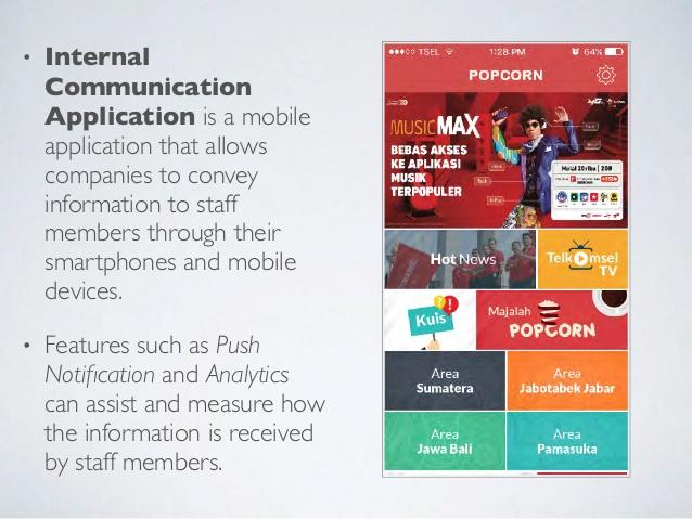 Internal Communication App